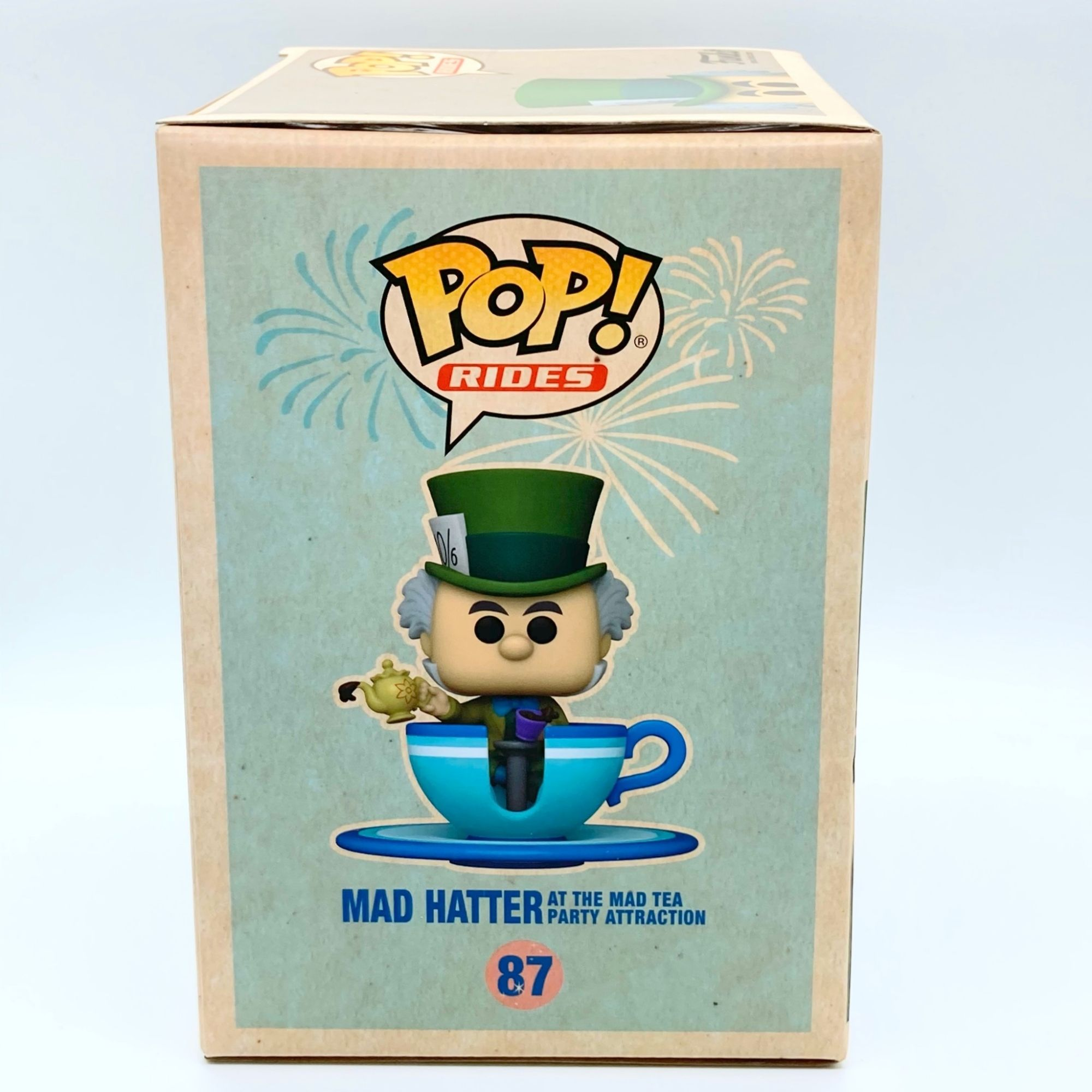 Funko Pop Disney Mad Hatter Chapeleiro Maluco Exlcusivo #87  - Game Land Brinquedos