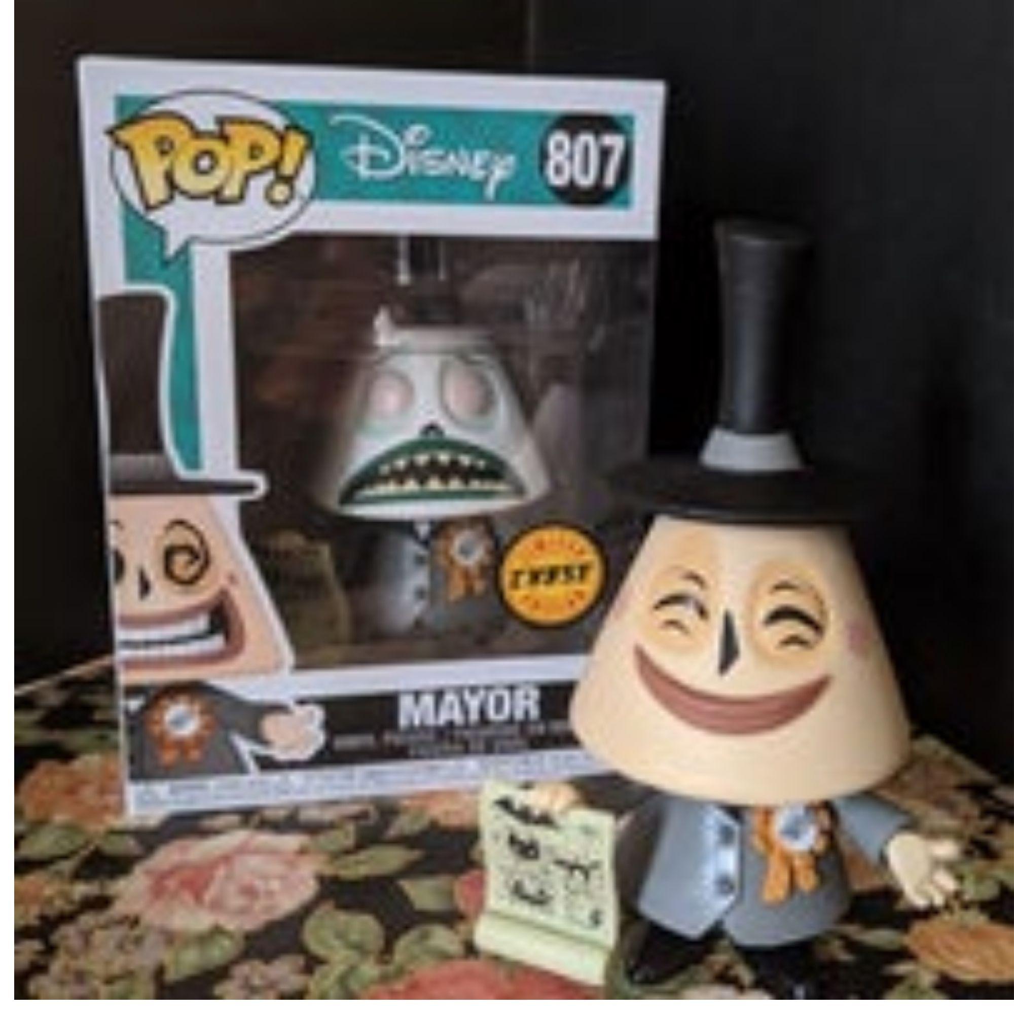 Funko Pop Disney Mayor Prefeito Chase #807  - Game Land Brinquedos