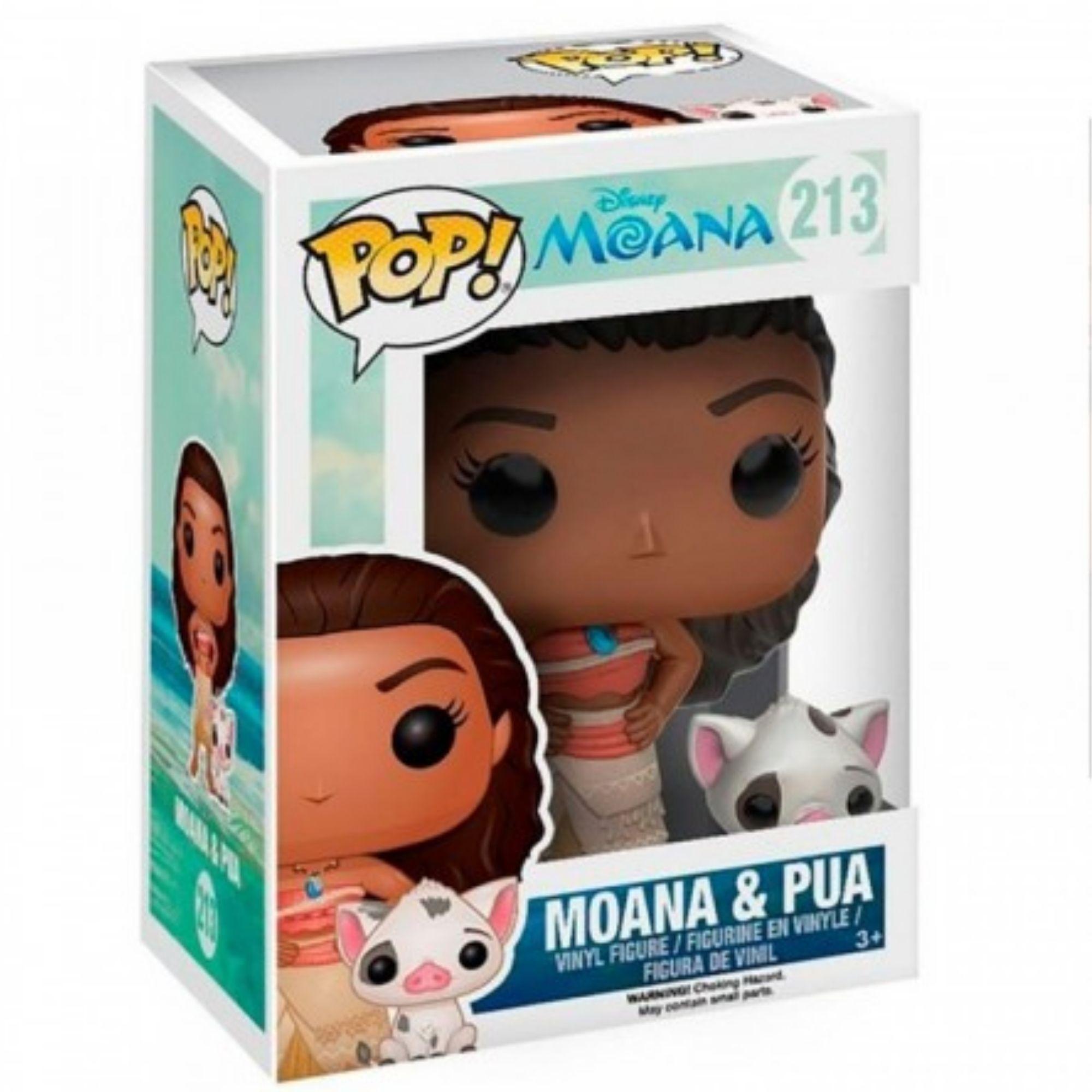 Funko Pop Disney Moana & Pua #213  - Game Land Brinquedos