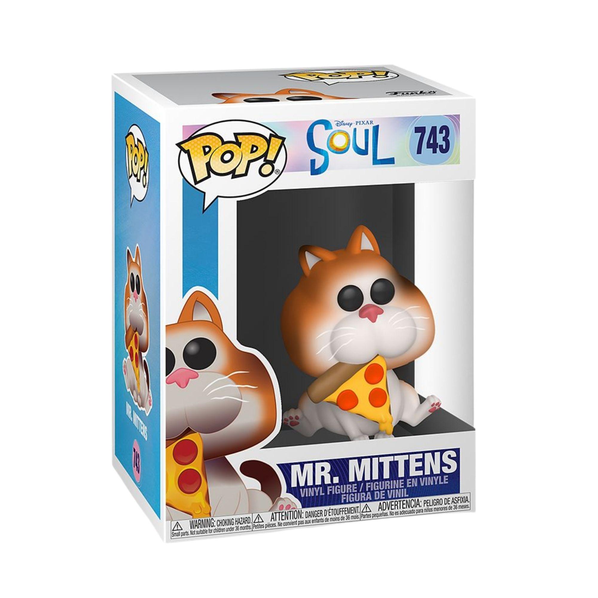 Funko Pop Disney Pixar Soul Mr. Mittens #743  - Game Land Brinquedos