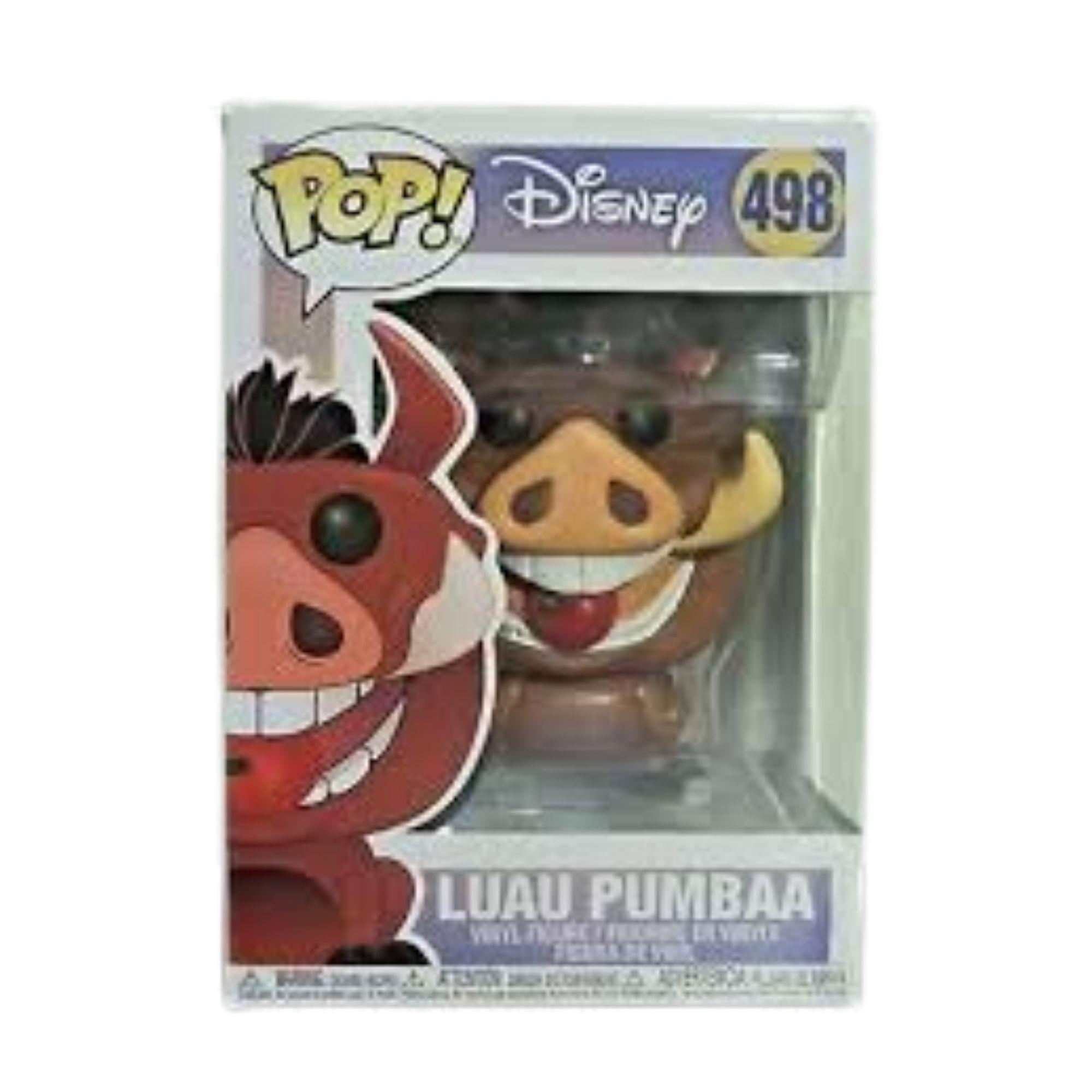 Funko Pop Disney Pumbaa Luau Rei Leão #498  - Game Land Brinquedos