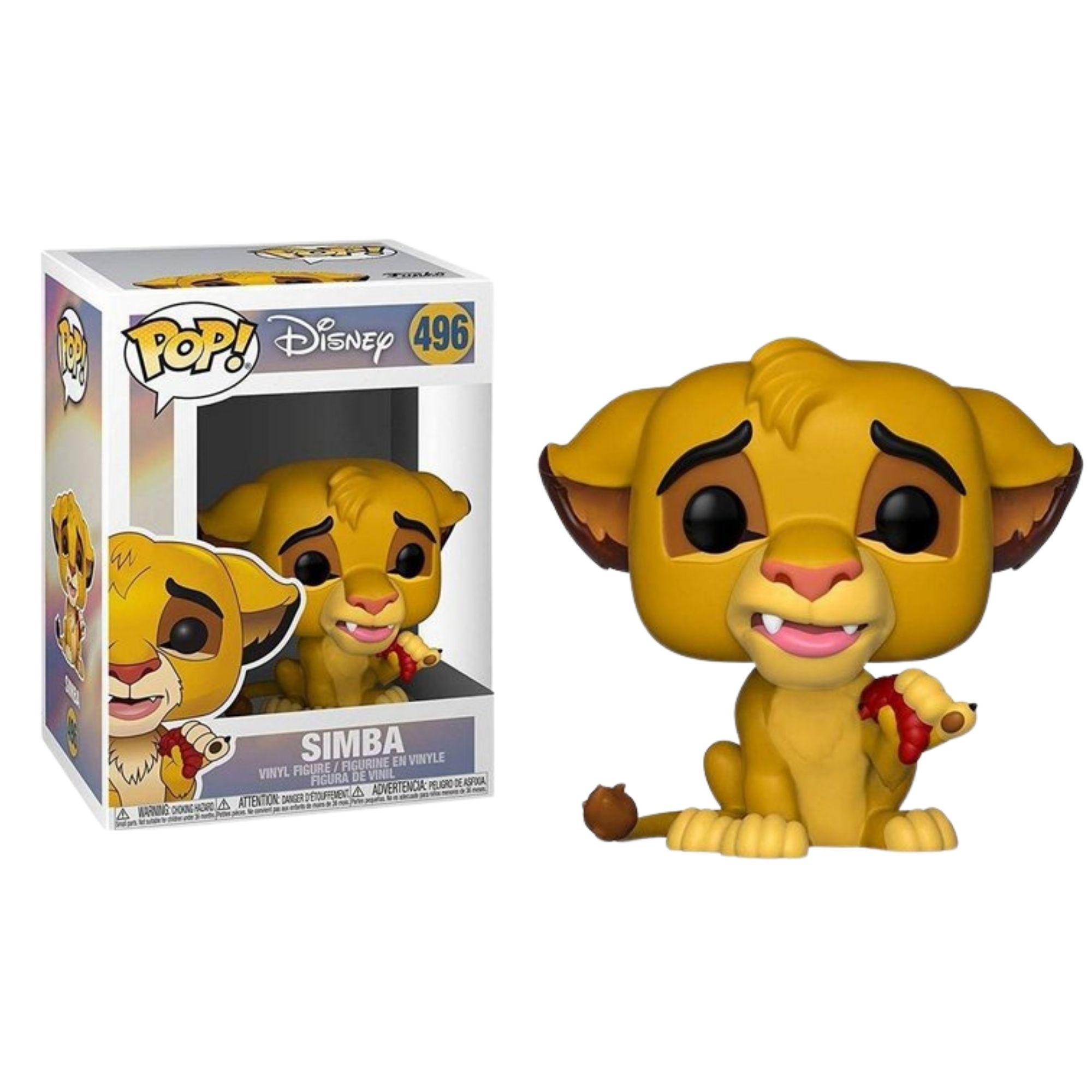 Funko Pop Disney Rei Leão Simba #496  - Game Land Brinquedos