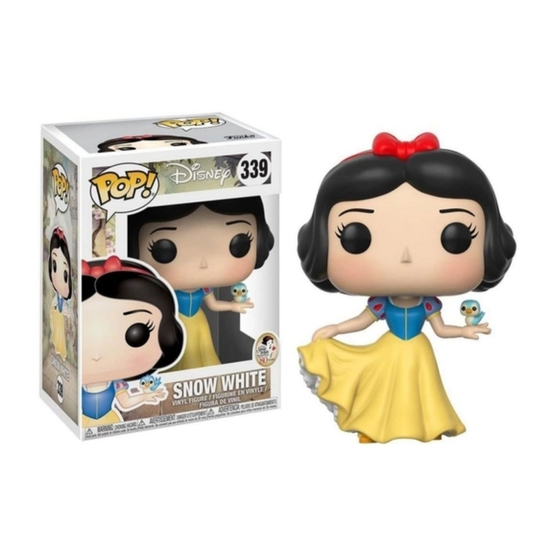 Funko Pop Disney Snow White Branca de Neve #339  - Game Land Brinquedos