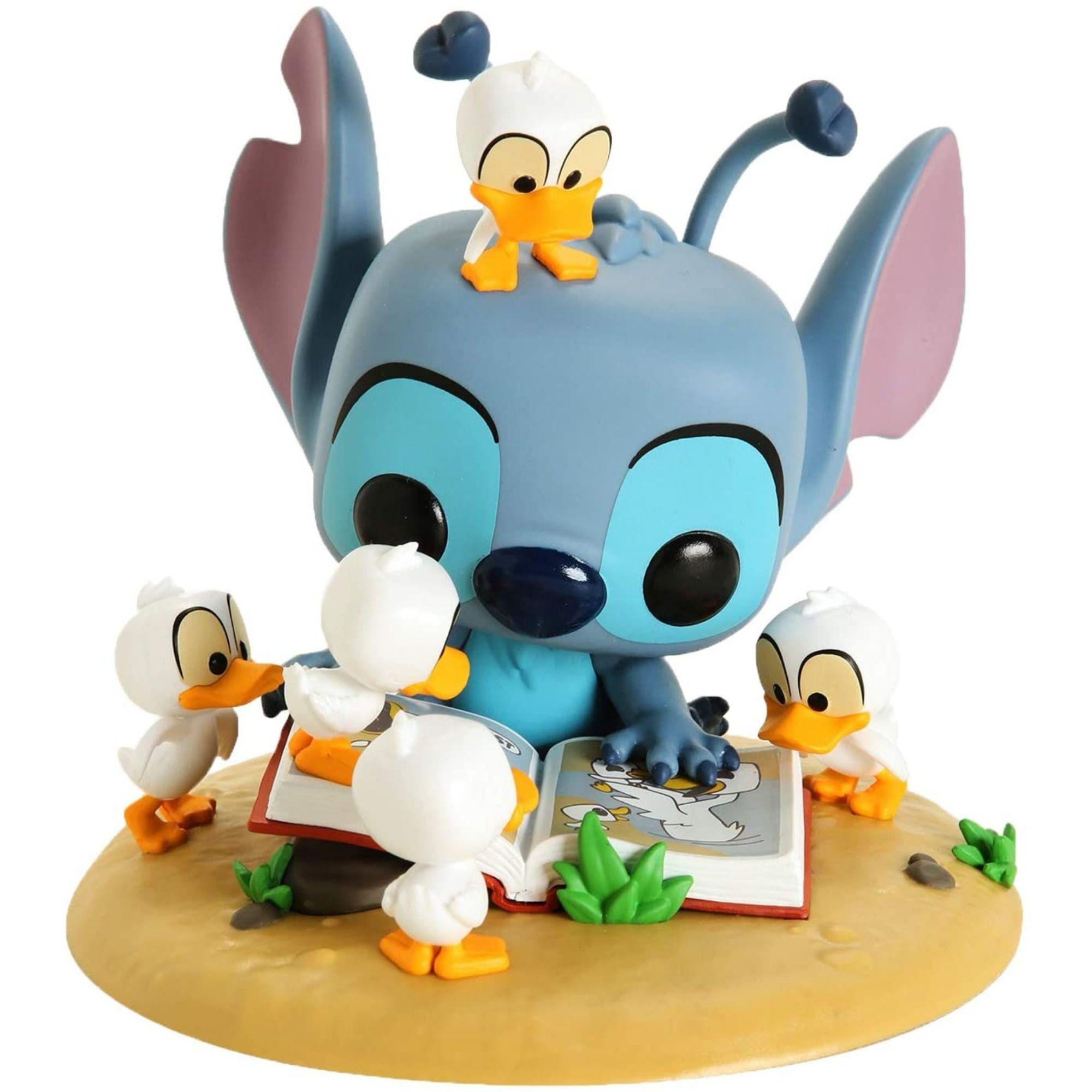 Funko Pop Disney Stitch with Ducks Exclusivo #639  - Game Land Brinquedos