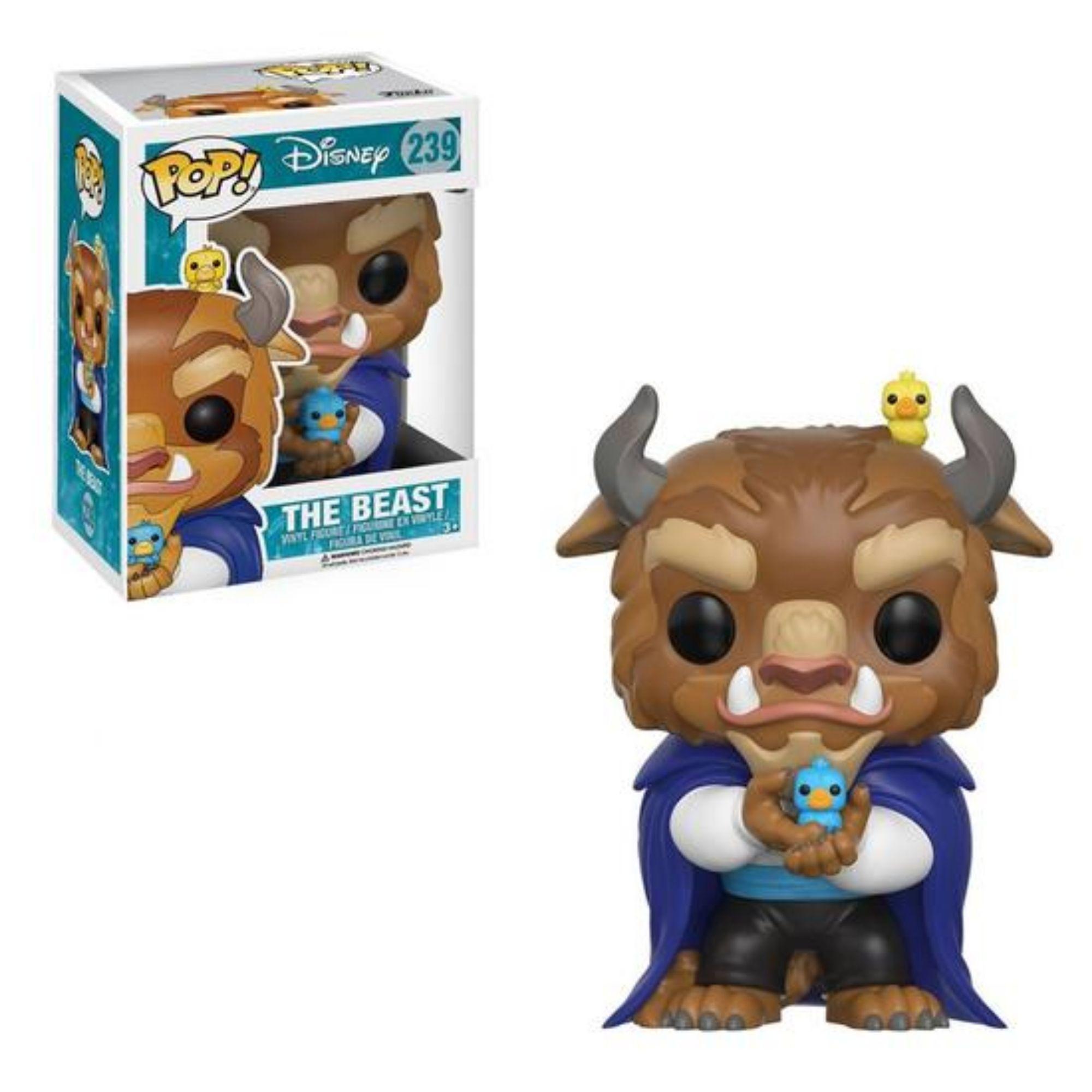 Funko Pop Disney The Beast A Bela e a Fera #239   - Game Land Brinquedos
