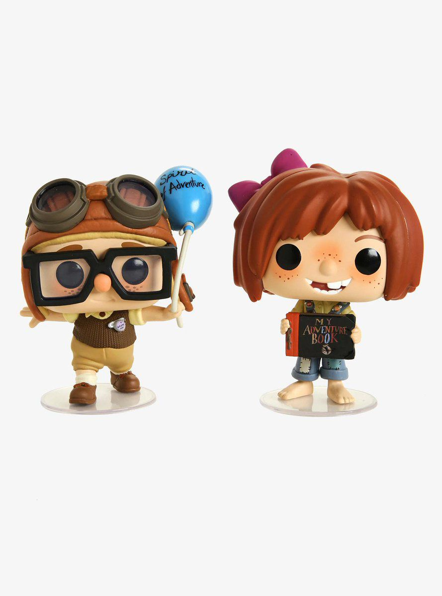 Funko Pop Disney Up Altas Aventuras Carl & Ellie Exclusivo - Game Land Brinquedos