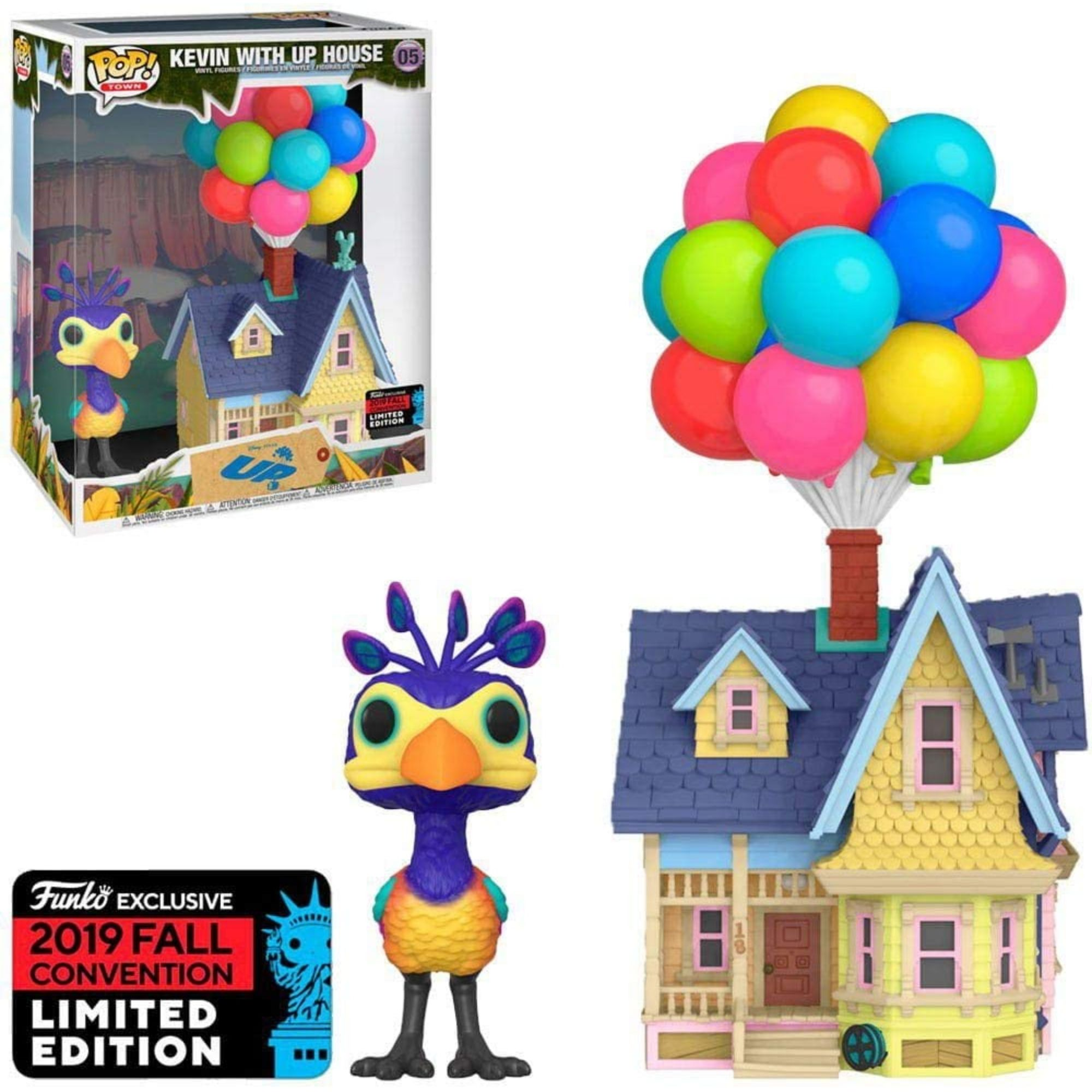Funko Pop Disney Up with Kevin Up House Nycc 2019 Exclusivo  - Game Land Brinquedos
