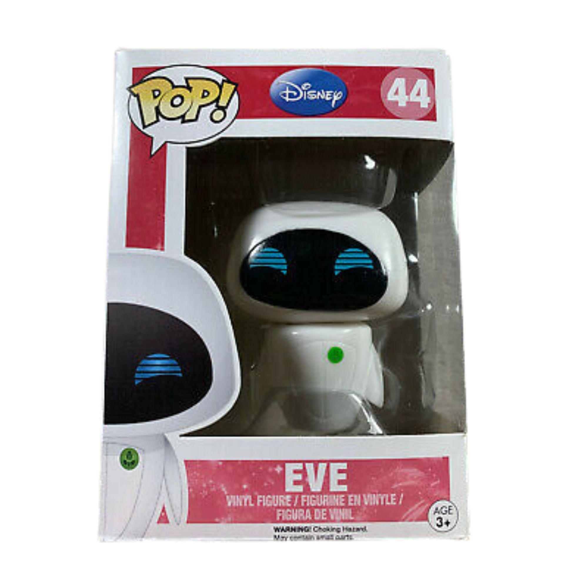 Funko Pop Disney Wall-e Eve #44  - Game Land Brinquedos