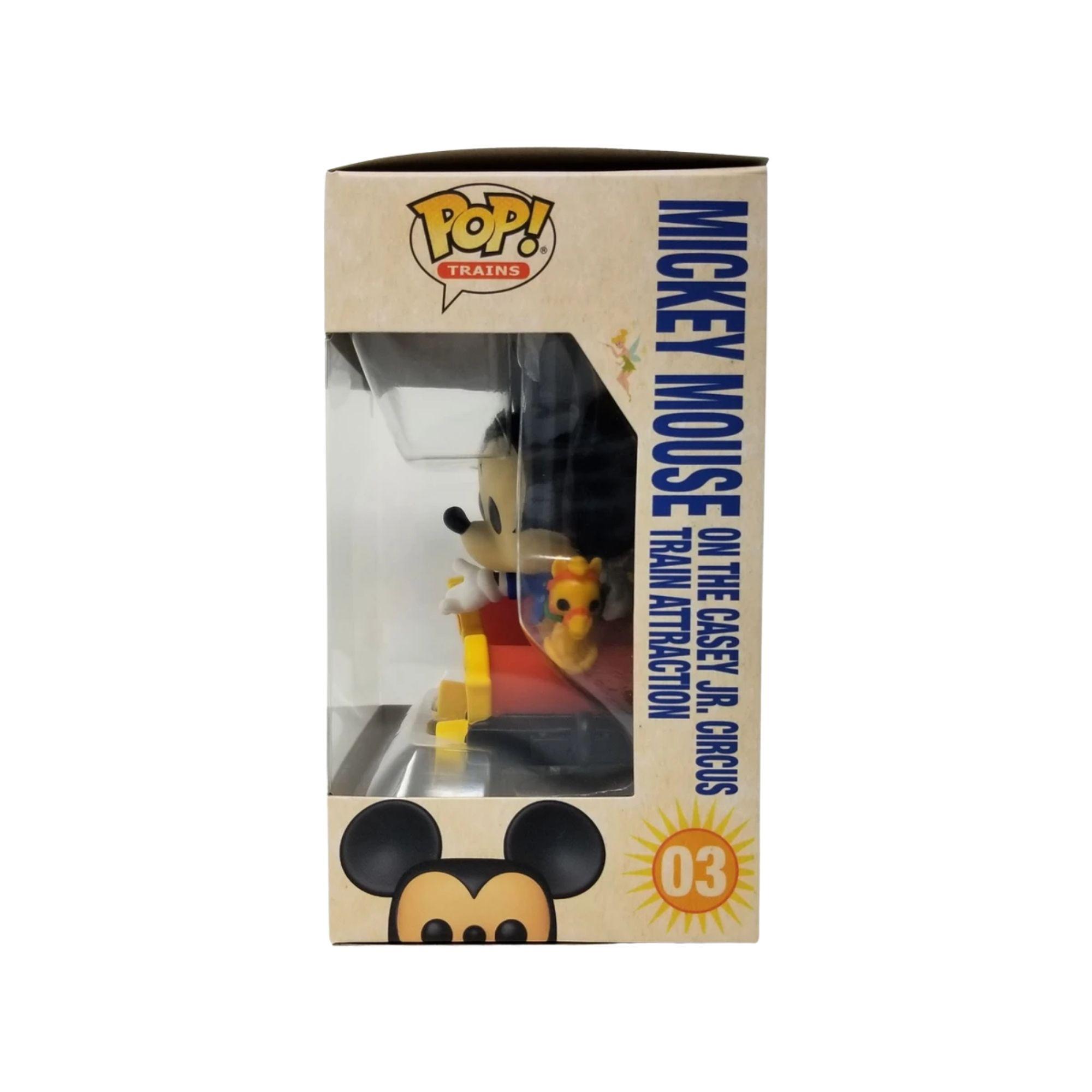 Funko Pop Disneyland 65th Mickey Mouse Train  #03  - Game Land Brinquedos