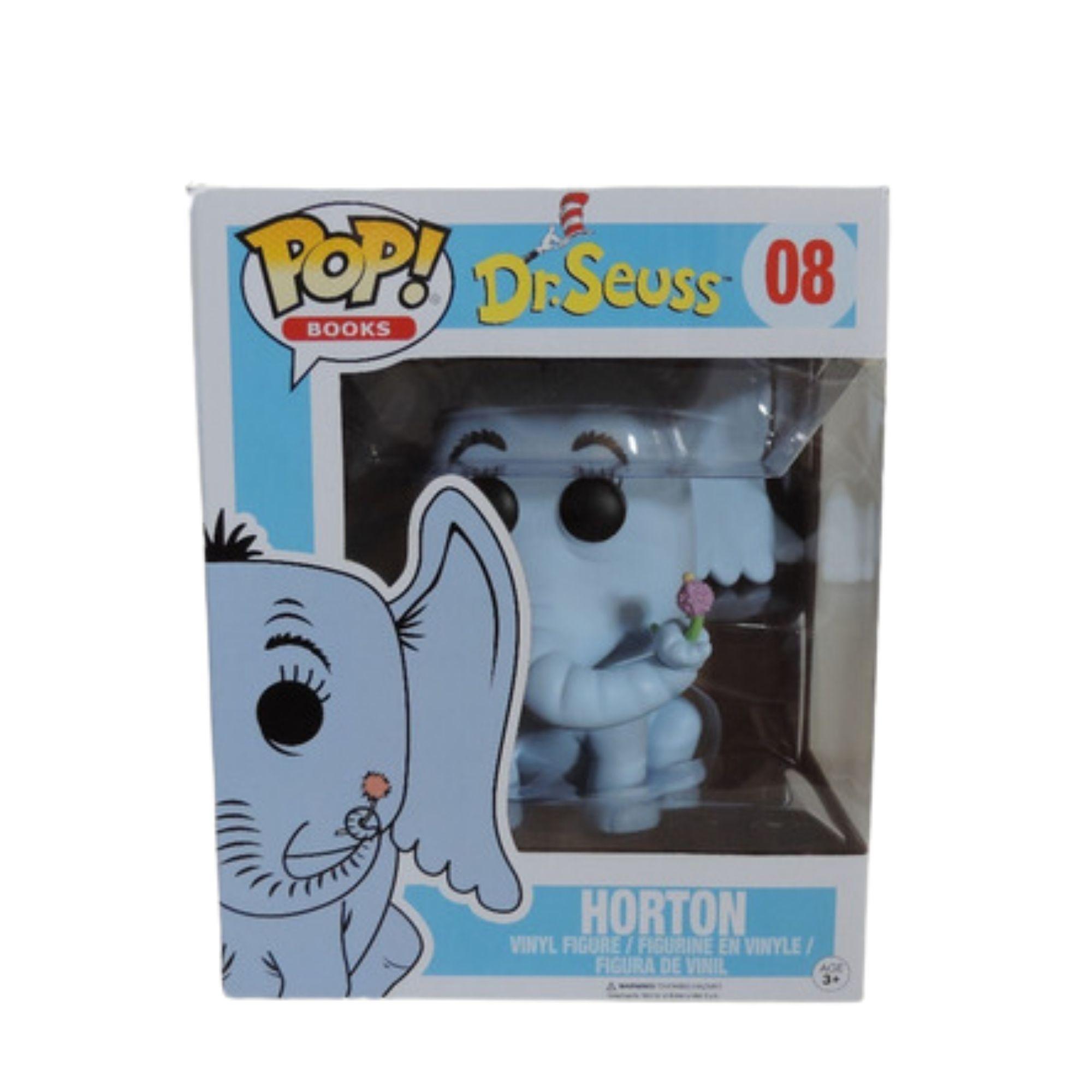 Funko Pop Dr. Seuss Horton #08   - Game Land Brinquedos