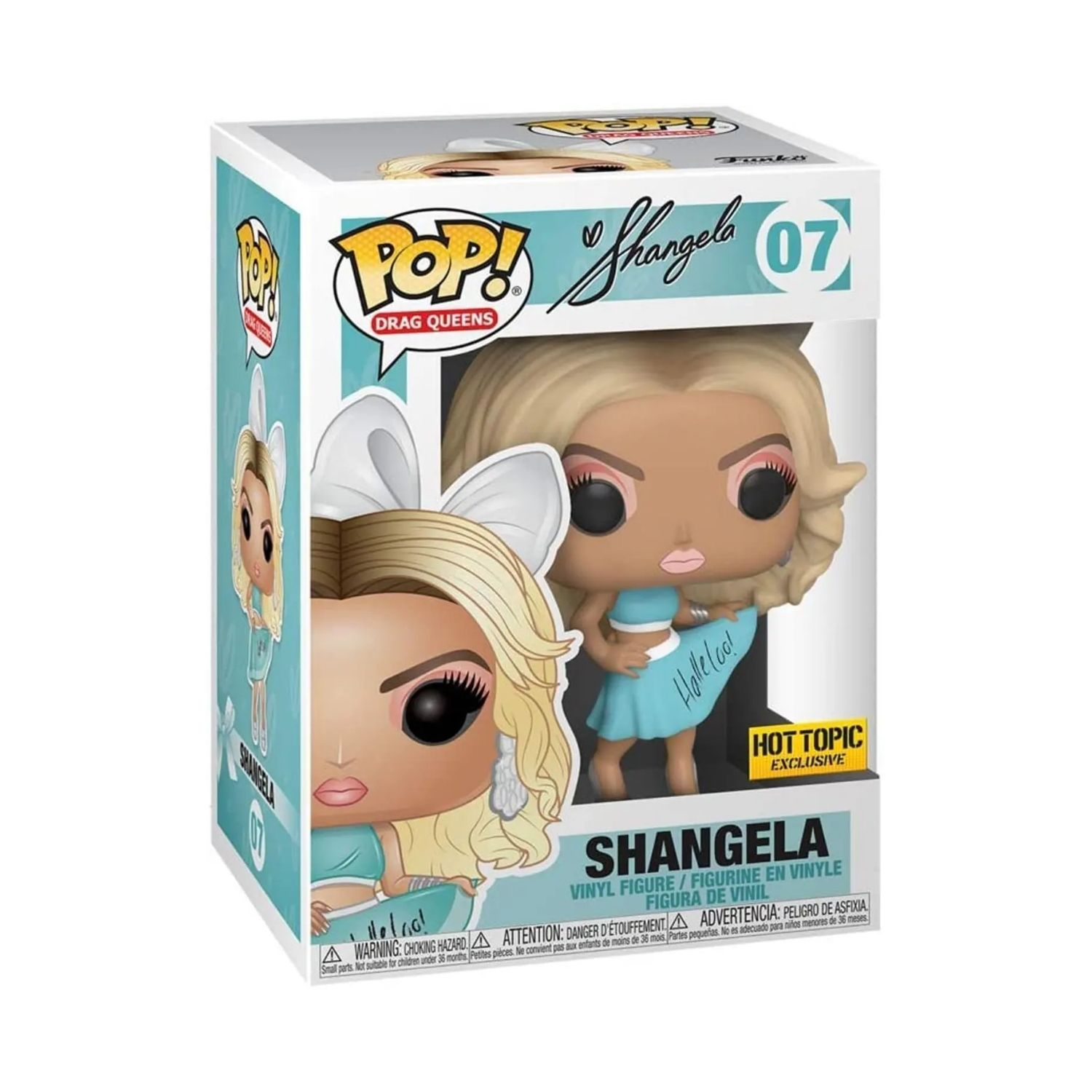 Funko Pop Drag Queens Shangela Exclusiva Hot Topic #07  - Game Land Brinquedos