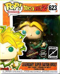 Funko Pop Dragon Ball Z Legendary Super Saiyan Broly Edição Especial  - Game Land Brinquedos