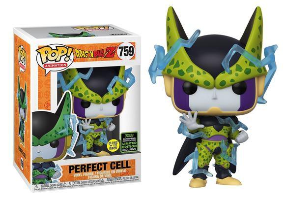 Funko Pop Dragon Ball Z Perfect Cell ECCC 759  - Game Land Brinquedos