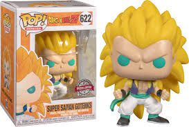 Funko Pop Dragon Ball Z Super Saiyan Gotenks Exclusivo 622  - Game Land Brinquedos