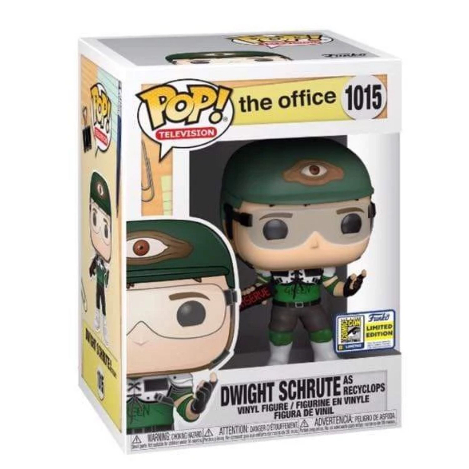 Funko Pop Dwight Schrute as Recyclops #1015 The Office  - Game Land Brinquedos