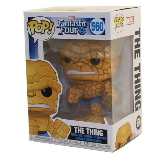Funko Pop Fantastic Four The Thing Quarteto Fantástico  - Game Land Brinquedos
