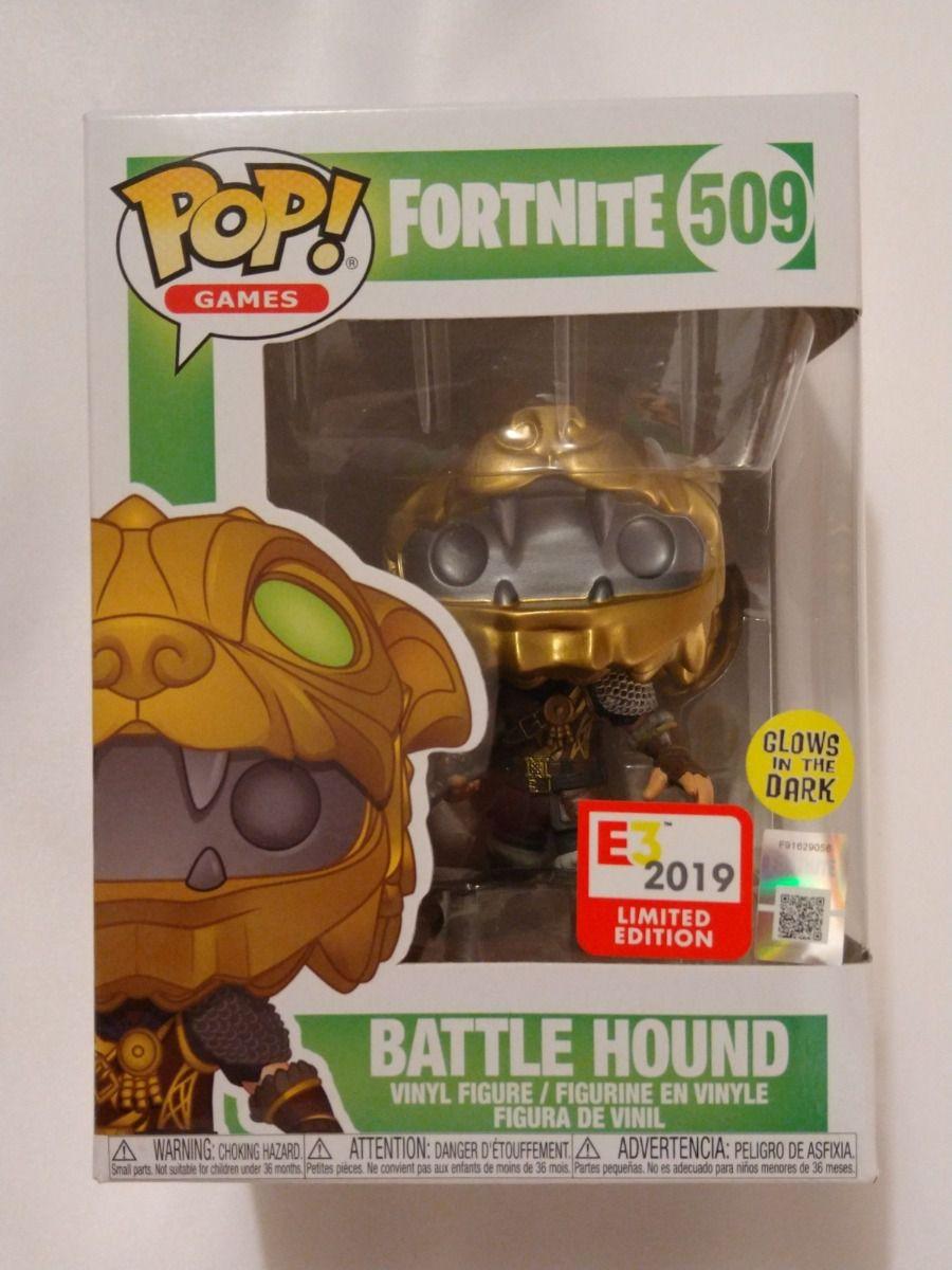 Funko Pop Fortnite Hound E3 2019 Exclusivo Gitd  - Game Land Brinquedos