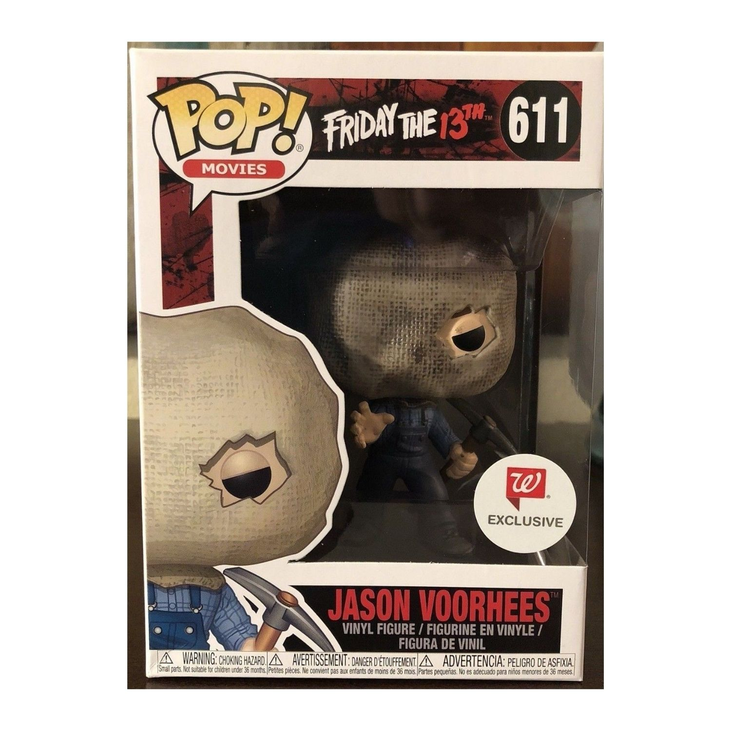 Funko Pop Friday The 13th Jason Voorhees #611 Walgreens Exclusive   - Game Land Brinquedos