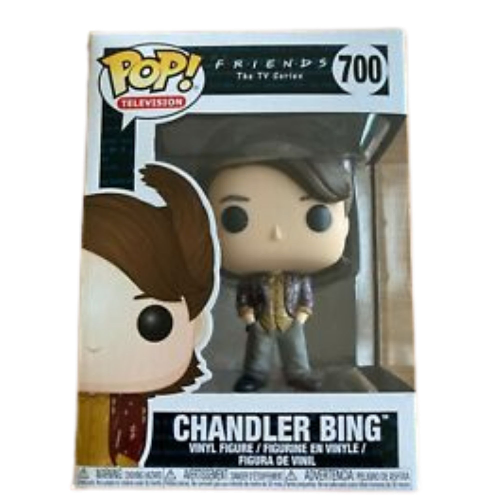 Funko Pop Friends Chandler Bing #700  - Game Land Brinquedos