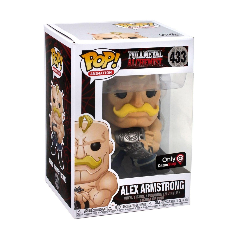 Funko Pop Fullmetal Alchemist Alex Armstrong GameStop #433  - Game Land Brinquedos