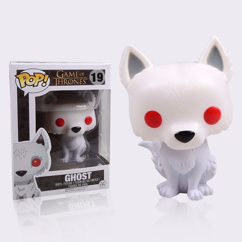 Funko Pop Game Of Thrones Ghost  - Game Land Brinquedos