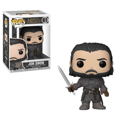 Funko Pop Game Of Thrones Jon Snow 61  - Game Land Brinquedos