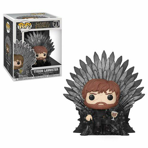 Funko Pop Game of Thrones Tyrion Lannister no Trono de Ferro #71  - Game Land Brinquedos