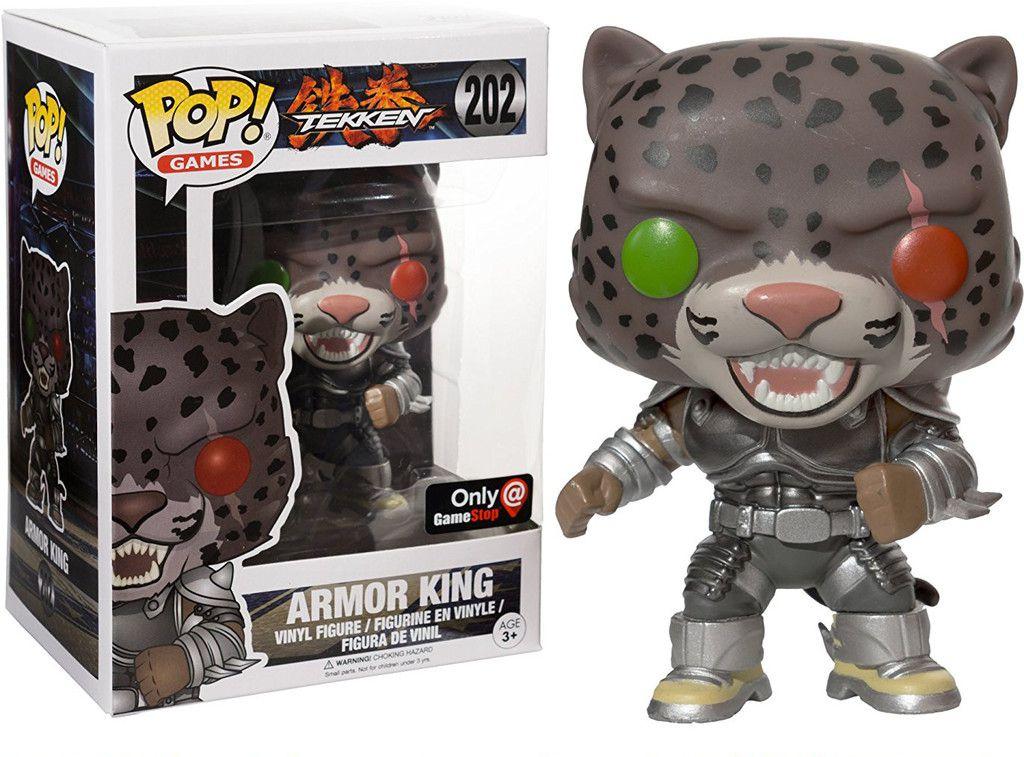 Funko Pop Games Armor King Tekken Exclusivo Gamestop 202  - Game Land Brinquedos