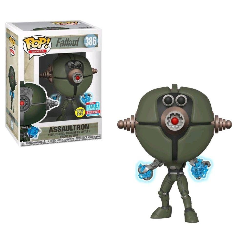 Funko Pop Games Fallout Assaultron  - Game Land Brinquedos