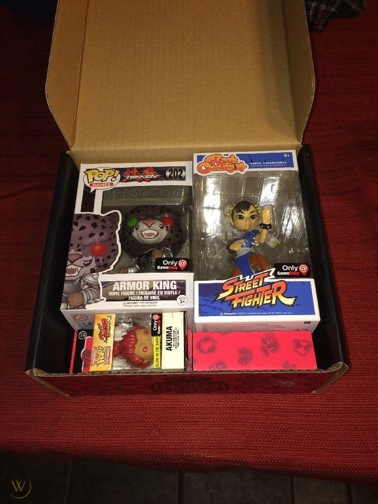 Funko Pop Games Street Fighter Tekken Mystery Box Exclusivo Gamestop  - Game Land Brinquedos