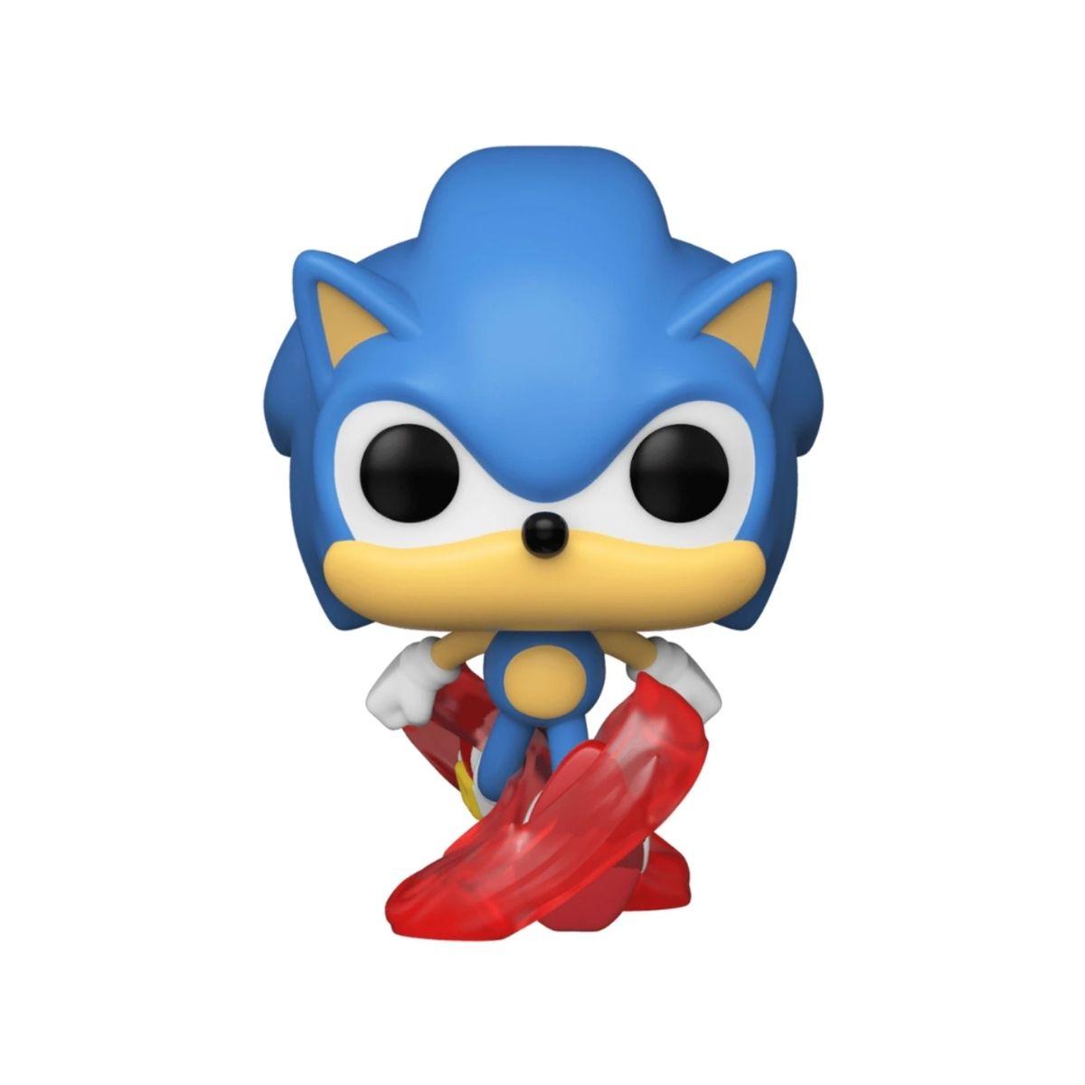 Funko Pop Games The Hedgehog Classic Sonic #632  - Game Land Brinquedos