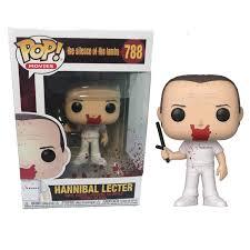 Funko Pop Hannibal Lecter Silêncio Dos Inocentes   - Game Land Brinquedos