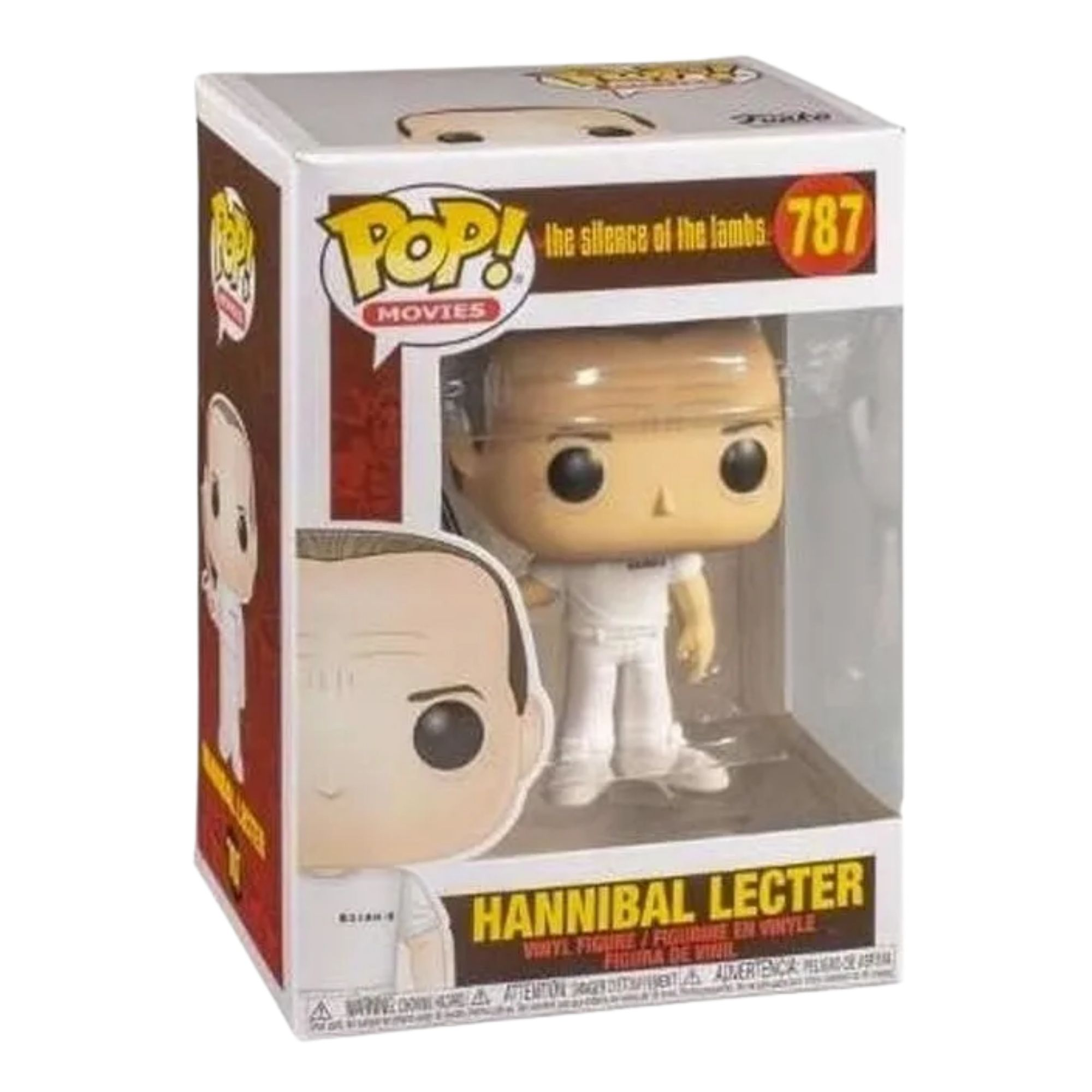 Funko Pop Hannibal Lecter Silêncio dos Inocentes #787  - Game Land Brinquedos