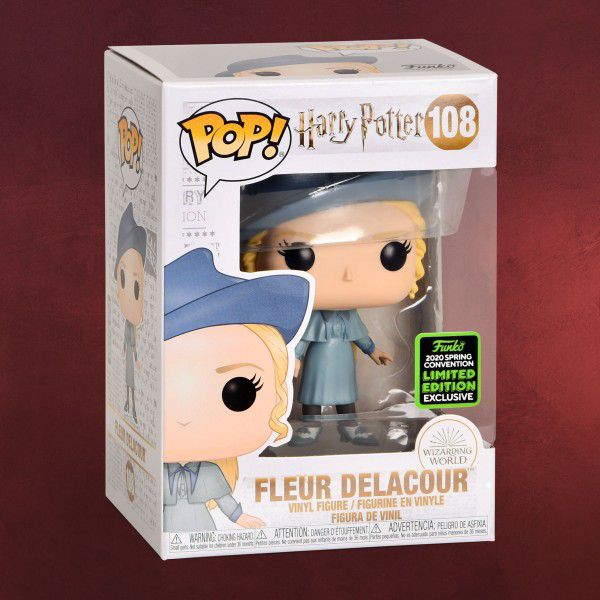 Funko Pop Harry Potter Fleur Delacour ECCC 2020  - Game Land Brinquedos