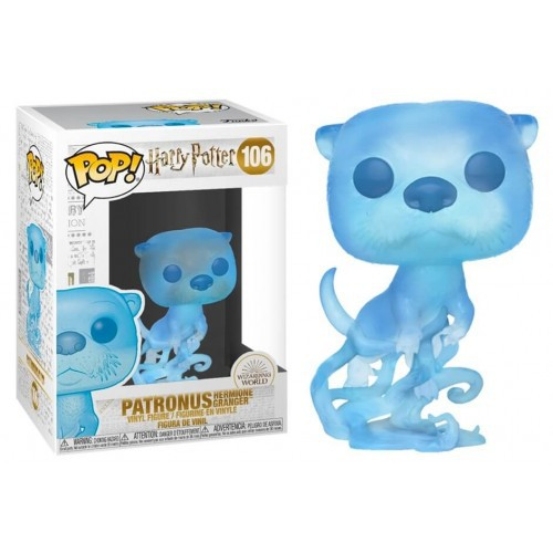 Funko Pop Harry Potter Hermione Granger Patronus   - Game Land Brinquedos