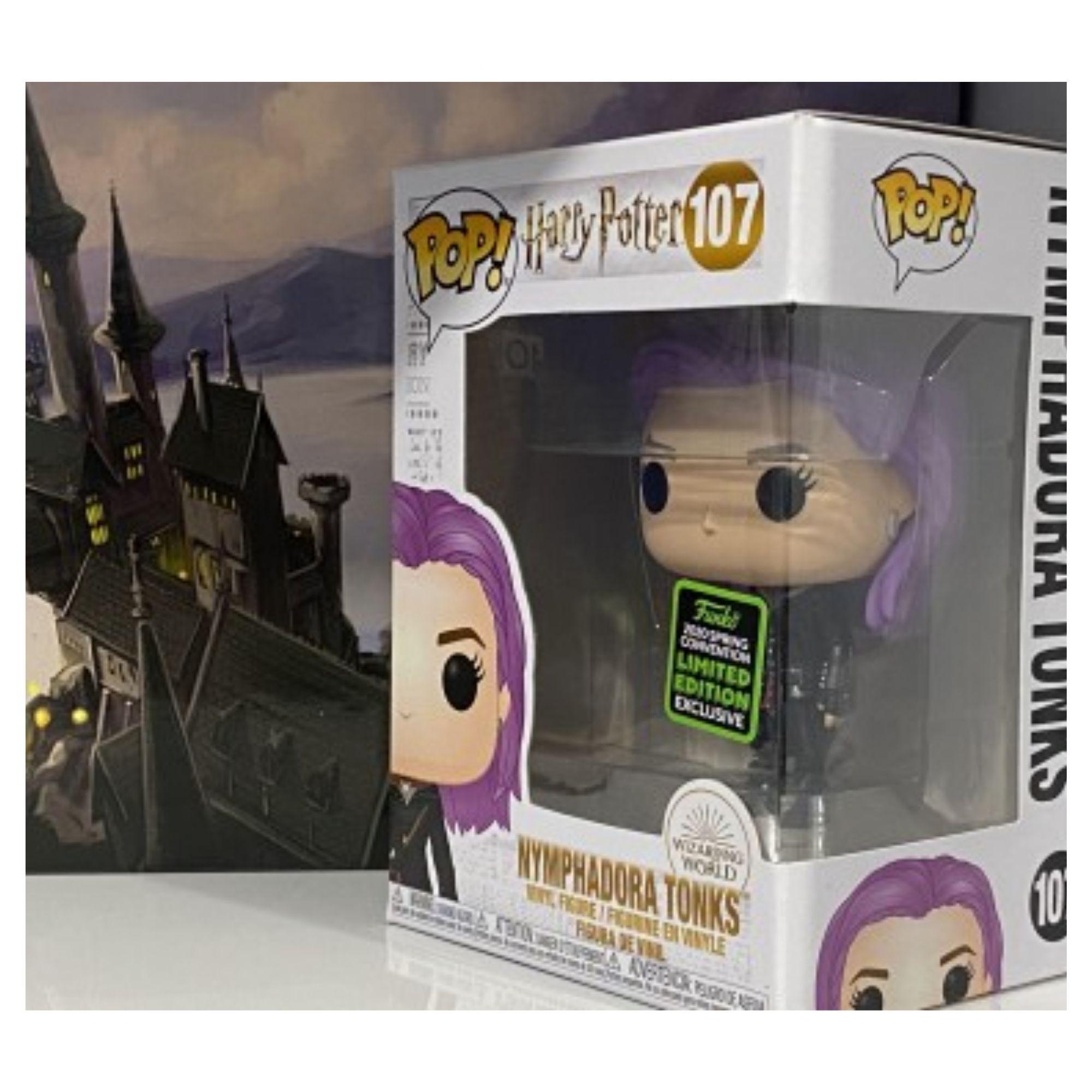 Funko Pop Harry Potter Nymphadora Tonks ECCC 2020 107  - Game Land Brinquedos