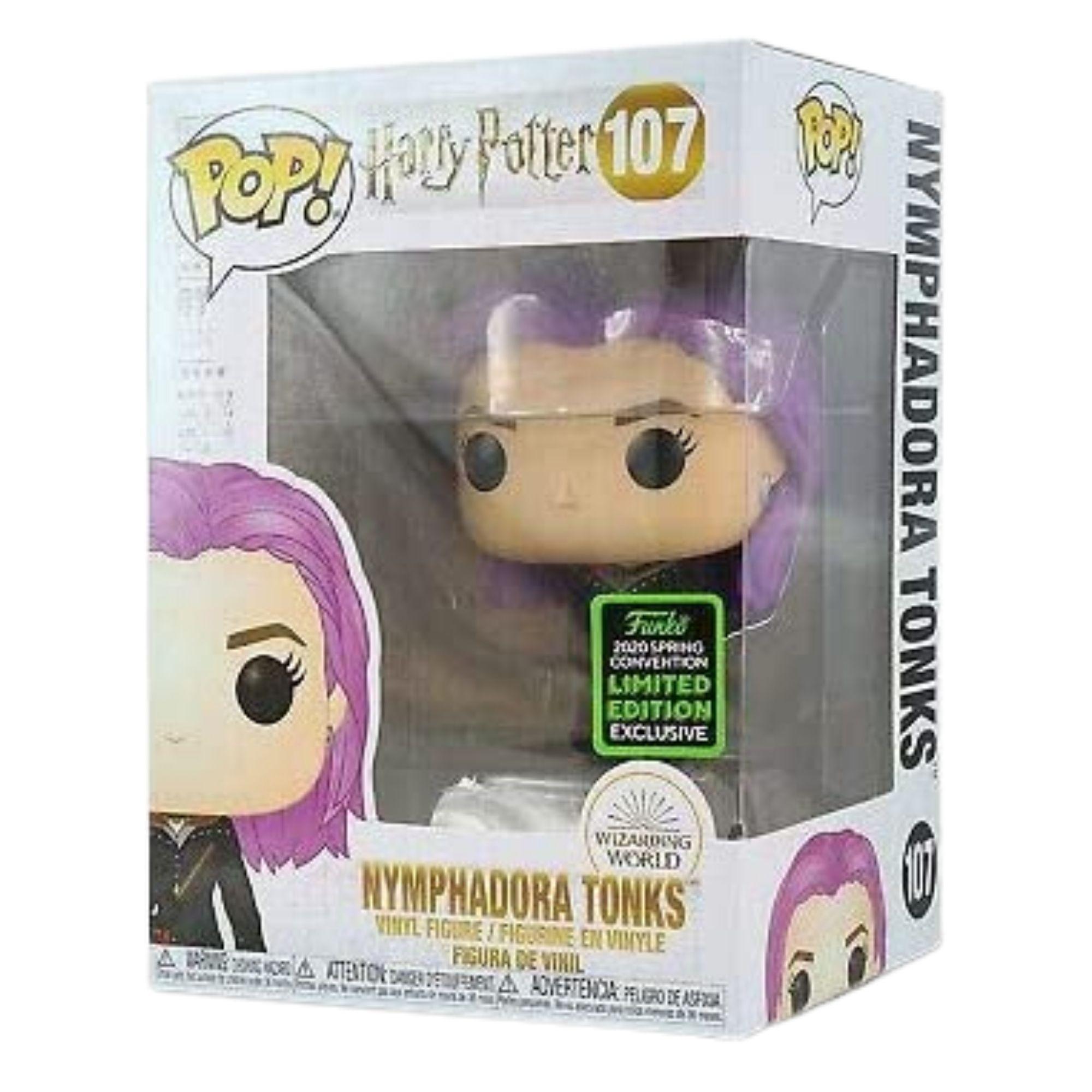 Funko Pop Harry Potter Nymphadora Tonks Eccc 2020 #107  - Game Land Brinquedos