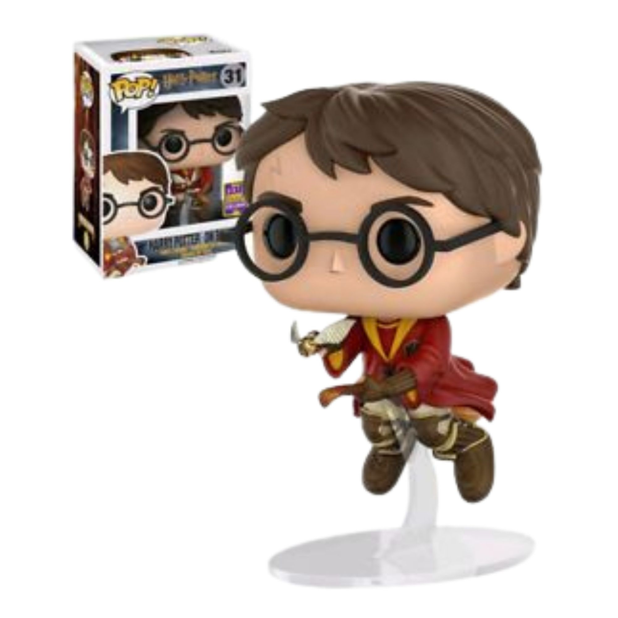 Funko Pop Harry Potter on Broom #31 Sdcc 2017  - Game Land Brinquedos
