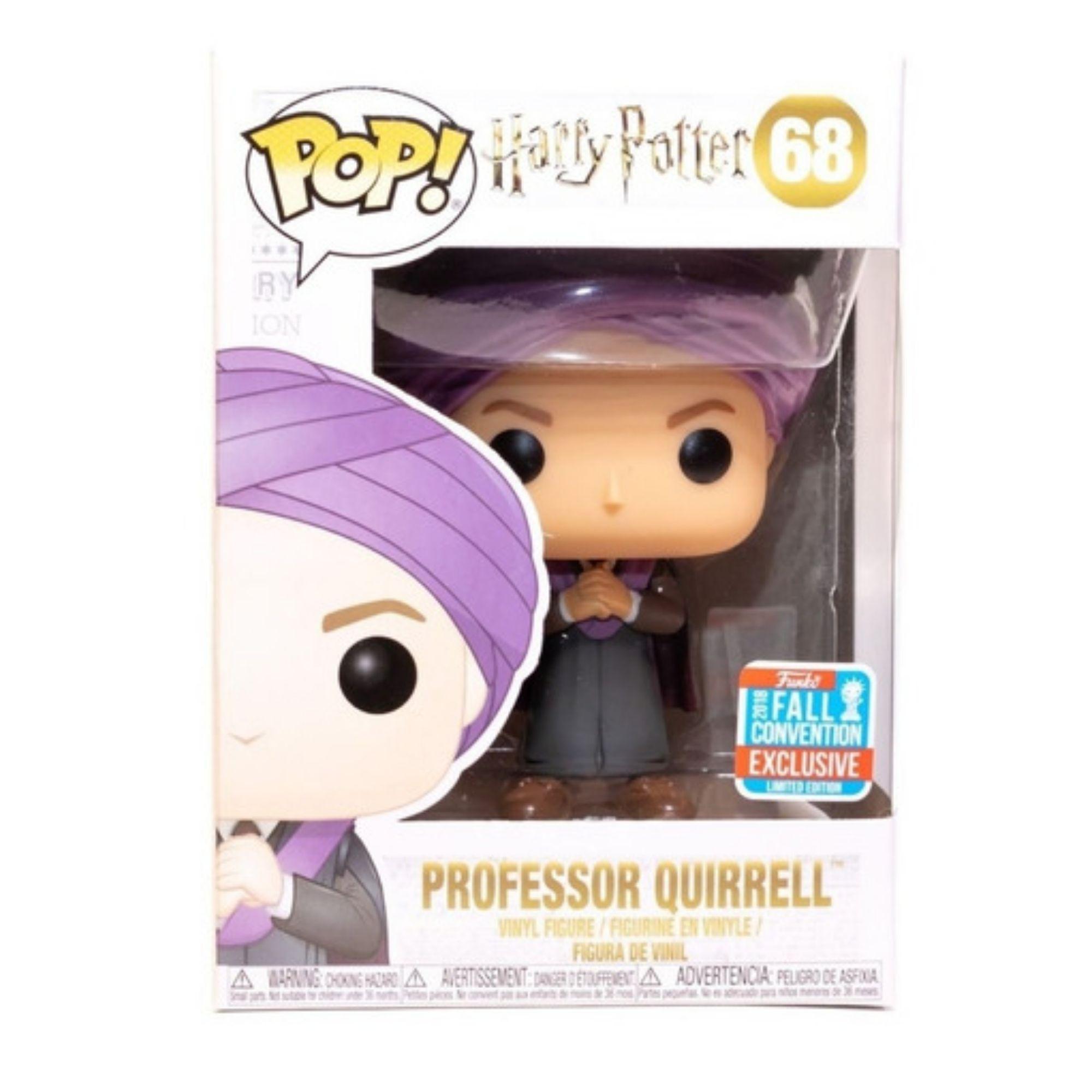 Funko Pop Harry Potter Professor Quirrell #68  - Game Land Brinquedos