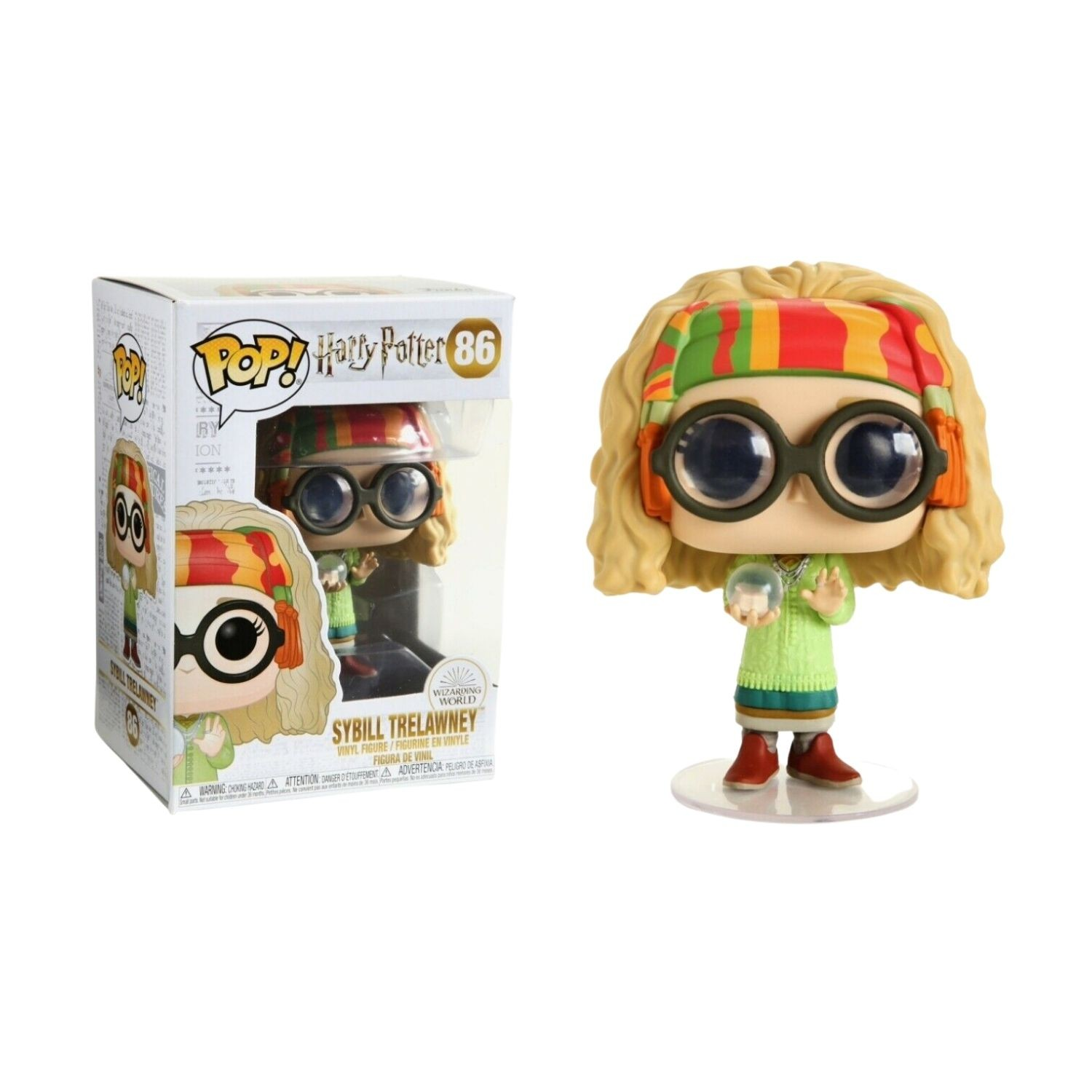 Funko Pop Harry Potter: Professora Trelawney #86 - Game Land Brinquedos