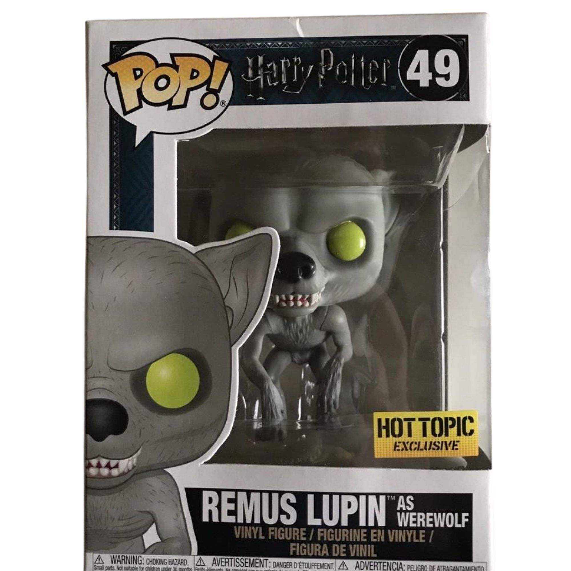 Funko Pop Harry Potter Remus Lupin As Werewolf Hot Topic Exclusivo #49  - Game Land Brinquedos
