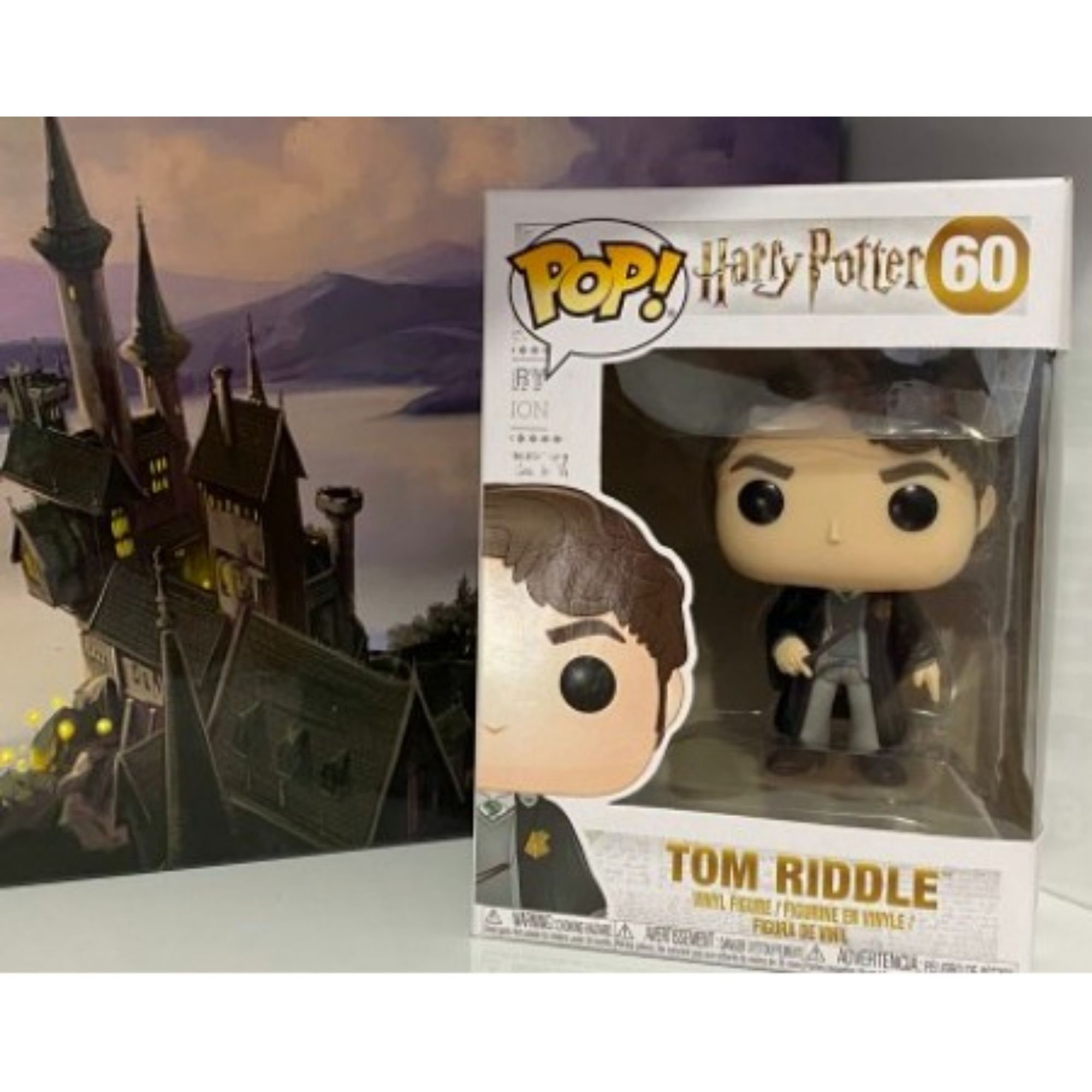 Funko Pop Harry Potter Tom Riddle #60  - Game Land Brinquedos