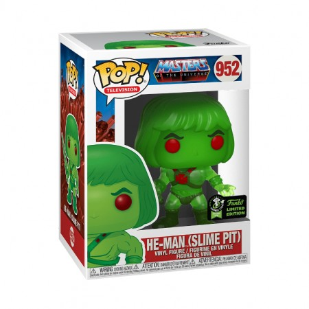 Funko Pop He-Man Slime Pit - Exclusivo 2020 952  - Game Land Brinquedos