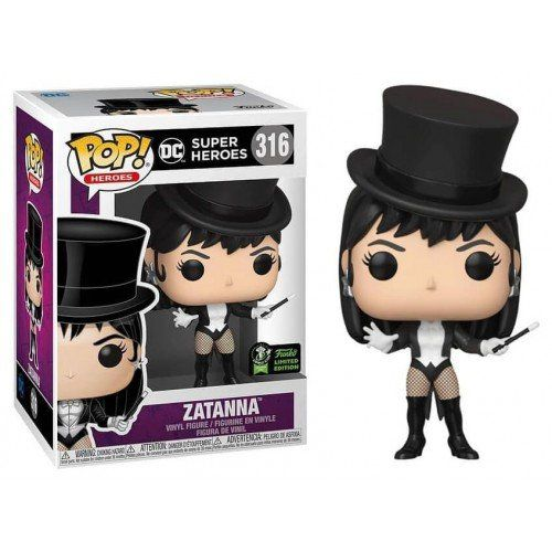 Funko Pop Heroes DC Zatanna Comic 2020 316  - Game Land Brinquedos