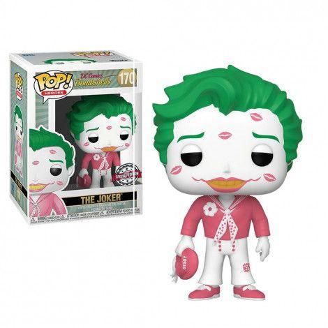 Funko Pop Heroes The Joker Dc Comics Bombshells 170  - Game Land Brinquedos
