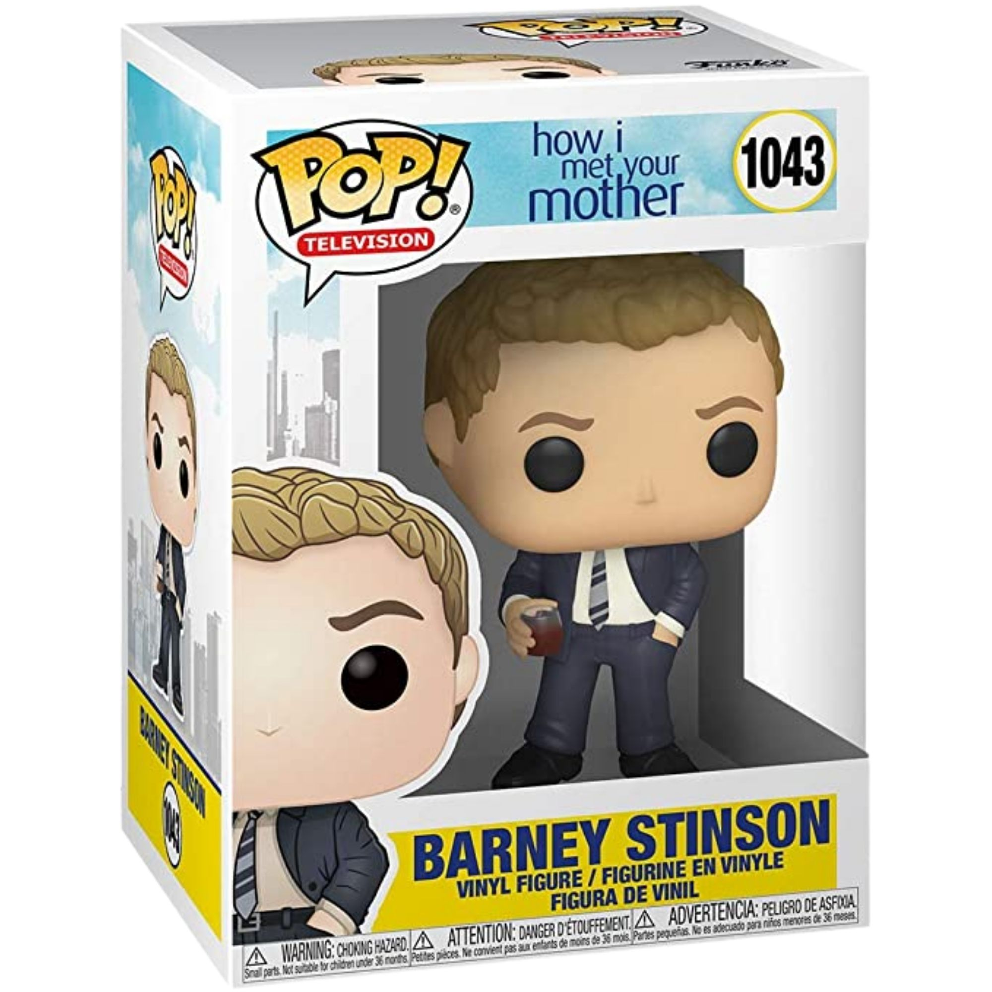 Funko Pop How I Met Your Mother Barney Stinson #1043  - Game Land Brinquedos