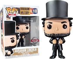 Funko Pop Icons American History Abraham Lincoln #10  - Game Land Brinquedos
