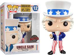 Funko Pop Icons American Story Uncle Sam   - Game Land Brinquedos