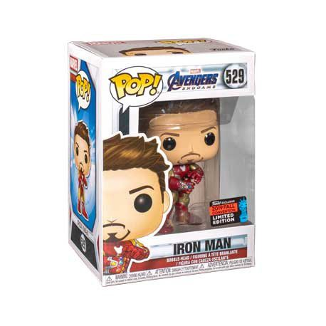 Funko Pop Iron Man com Manopla Endgame Avengers NYCC 2019 Exclusivo  - Game Land Brinquedos