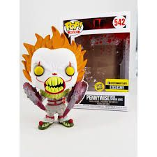 Funko Pop It Pennywise With Spider Legs Glows Exclusivo 542  - Game Land Brinquedos